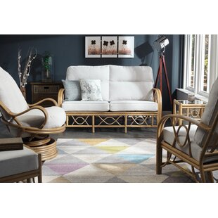 Hayley 5 Piece Conservatory Sofa Set By Beachcrest Home