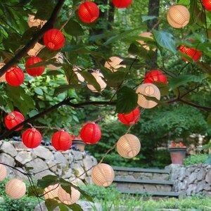 Aspen Hill 10-Light Lantern String Lights