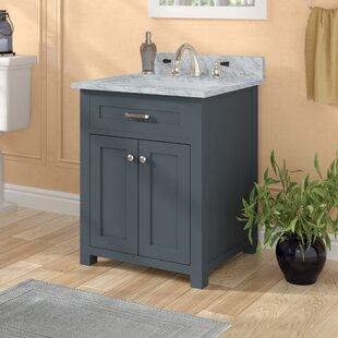 Cecilton 24 Single Bathroom Vanity Set