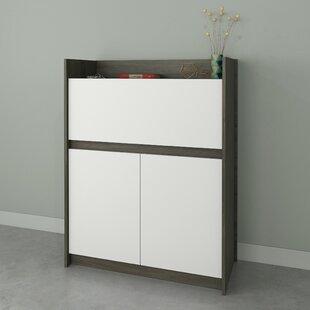 Persephone Secretary Desk with Hutch by Ebern Designs