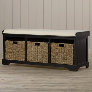 Beachcrest Home Seminole Wood Storage Bench