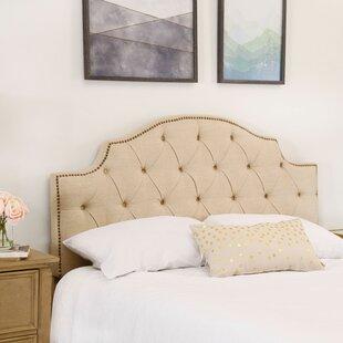 Mcalpine Queen Upholstered Panel Headboard