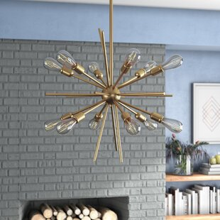 Langley Street Corona 12-Light Chandelier