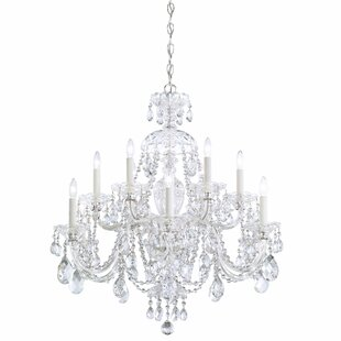 Schonbek Sterling 12-Light Chandelier