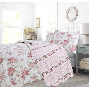 Marbleton Reversible Cotton Quilt Set