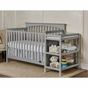 Chloe 5 In 1 Convertible Crib And Changer Combo