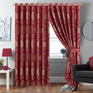 Jacquard Damask Curtains | Wayfair.co.uk