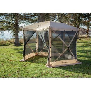 10 Ft. W x 9 Ft. D Fiberglass Pop-Up Gazebo by Gazelle