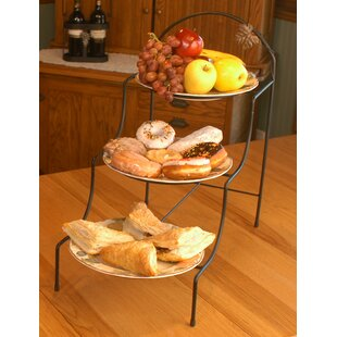 Triple Slope Tiered Fruit Basket