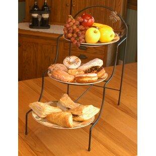 Triple Slope Tiered Fruit Basket