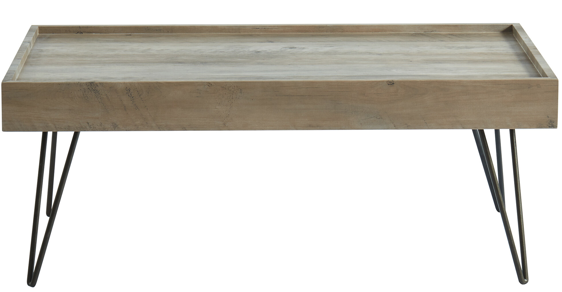 Brilliant Nena Contemporary Tray Coffee Table With Tray Top Machost Co Dining Chair Design Ideas Machostcouk