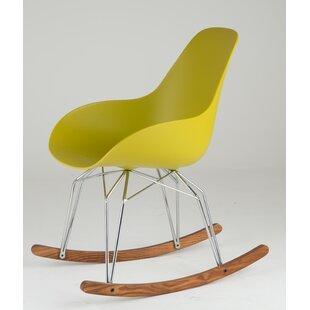 Attirant Diamond Dimple Rocking Chair