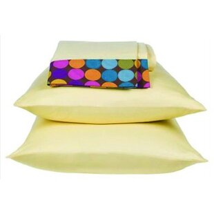 Bacati Dots and Stripes 200 Thread Count Spice Sheet Set