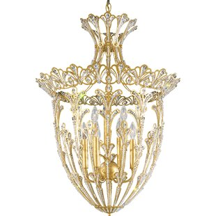 Schonbek Rivendell 9-Light Crystal Chandelier