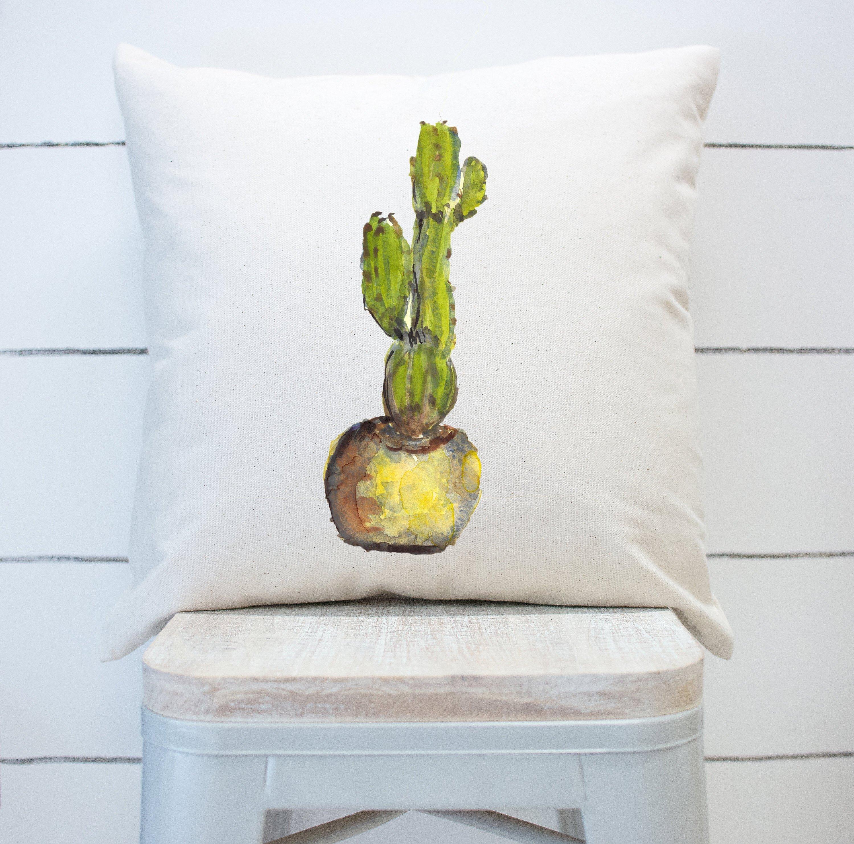 Union Rustic Fiora Cactus Square Pillow Cover Wayfair