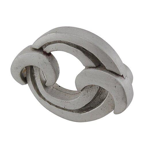 3-Inch Vicenza Designs K1121 Ariosto Decorative Pull Antique Silver