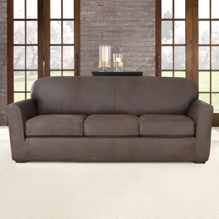 Shop Ultimate Stretch Box Cushion Sofa Slipcover by Sure Fit