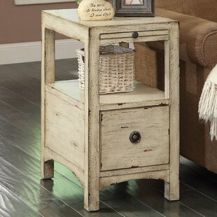 Hayman End Table With Storage