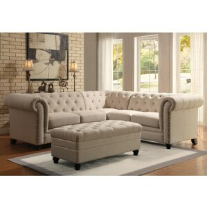 Vanallen Sectional by Darby Home Co