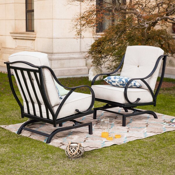 Enjoyable Oversized Patio Chairs Wayfair Pabps2019 Chair Design Images Pabps2019Com