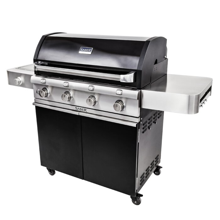 Cast Cart Gas and Charcoal Grill