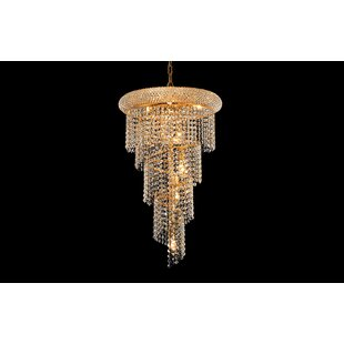 Zonia 8-Light Crystal Chandelier by House..
