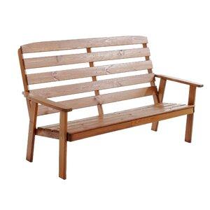 Gartenbank Hanko Maxi aus Holz von Caracella