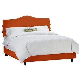 Skyline Furniture Clarita Polyester Upholstered Panel Bed