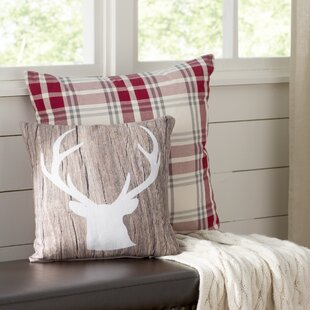Ikonolexi Deer Throw Pillow
