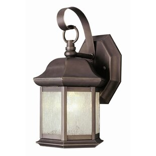 Reviews 1-Light Outdoor Wall Lantern By TransGlobe Lighting