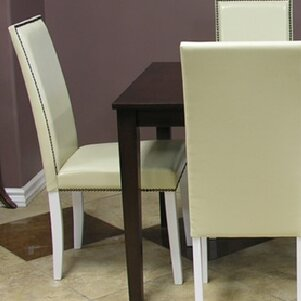 Blazing Parsons Upholstered Dining Chair (Set of 4)