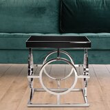 Linda End Table by Orren Ellis