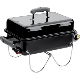 Go-Anywhere 1-Burner Propane Gas Grill By Weber