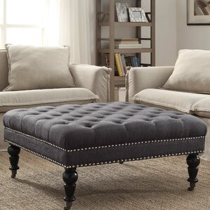 Best Review Rittenhouse Square Tufted Ottoman by Willa Arlo Interiors