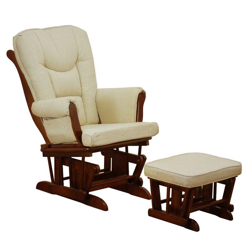 Glider Ottoman Outdoor Gliding OttomanOutdoor Patio Furniture