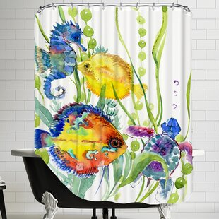 Seaworld Shower Curtain By East Urban Home