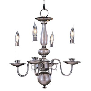 Jamestown 4-Light Candle-Style Chandelier