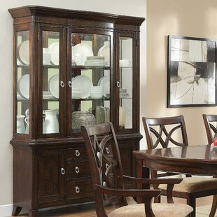 Exceptional Kinsman Lighted China Cabinet