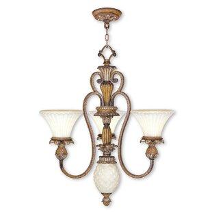Astoria Grand Scotland 4-Light Shaded Chandelier