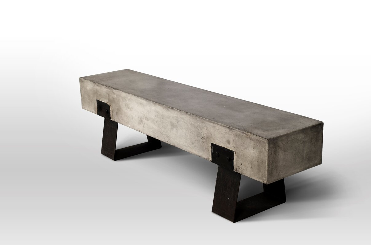 Luxurious David Metal And Wood Picnic Bench By Trent