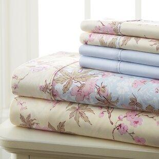 Fairview Floral/Flower Sheet Set
