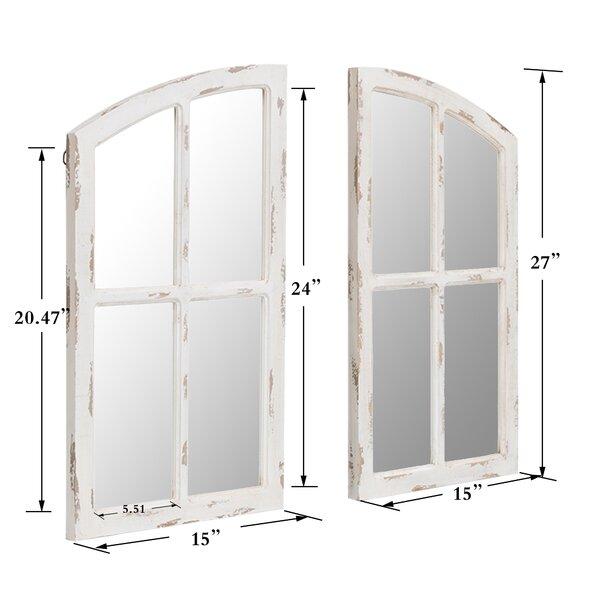 Pfeifer Rustic Overmantel Mirror
