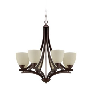 Alvah 8-Light Shaded Chandelier by Winston Porter