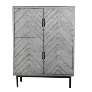 Rayshawn 4 Door Accent Cabinet by House of Hampton