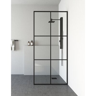Zenith Pivot Frameless Fixed Glass Panel