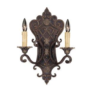 Best Reviews Lister 2-Light Candle Wall Light By Astoria Grand