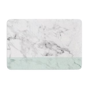 Marble Fade Memory Foam Bath Rug By East Urban Home