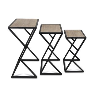 Lionel 2 Piece Nesting Tables by Wrought Studio