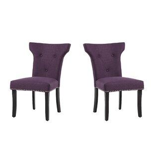 Willa Arlo Interiors Roseta Upholstered Dining Chair (Set of 2)