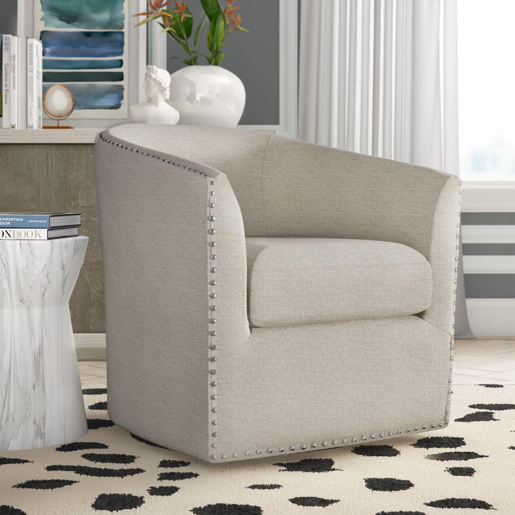 Picture of: Tidwell Swivel Barrel Chair Reviews Joss Main